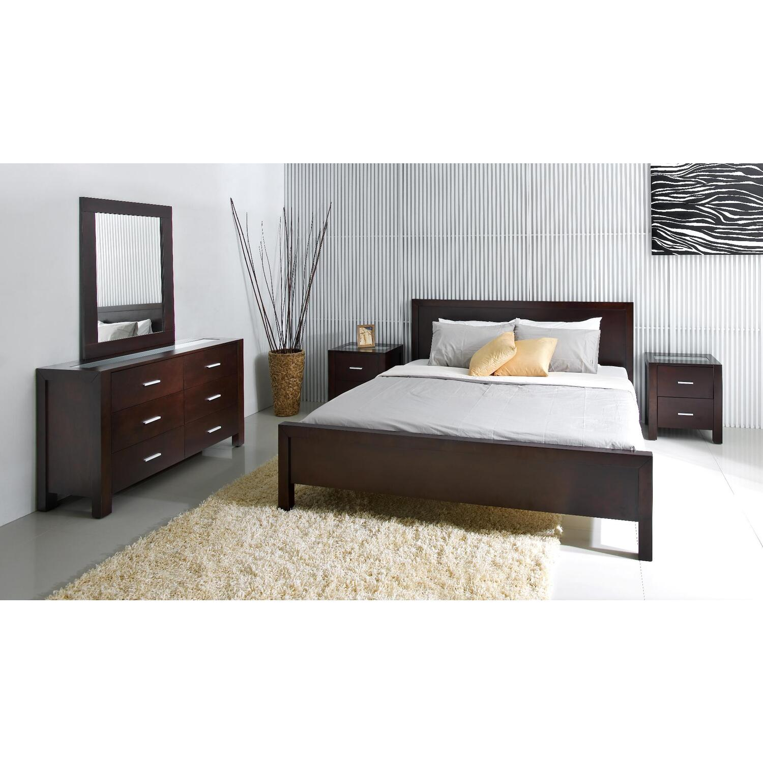 Abbyson living 5pc cal king bedroom set by oj commerce - California king bedroom furniture ...