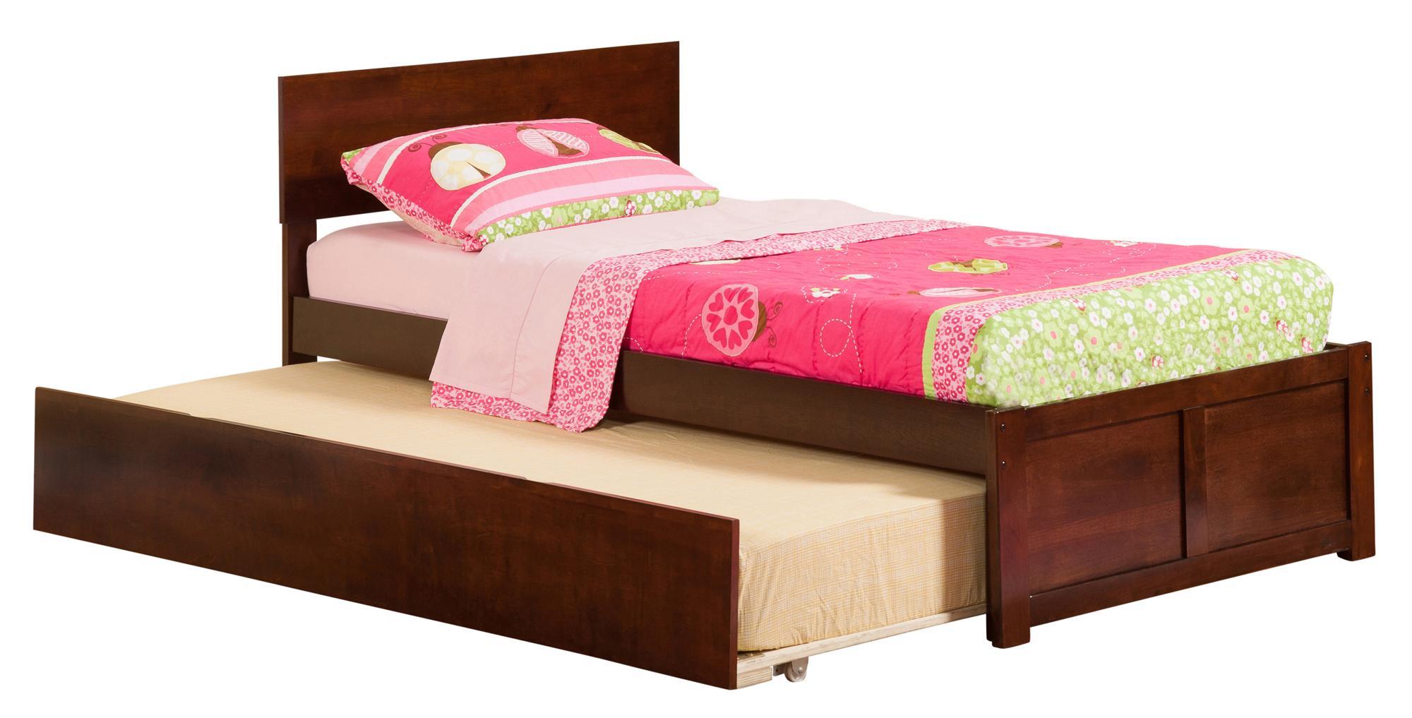 Atlantic Furniture Orlando Flat Panel Foot Board W Urban Trundle By Oj Commerce Ar8122014