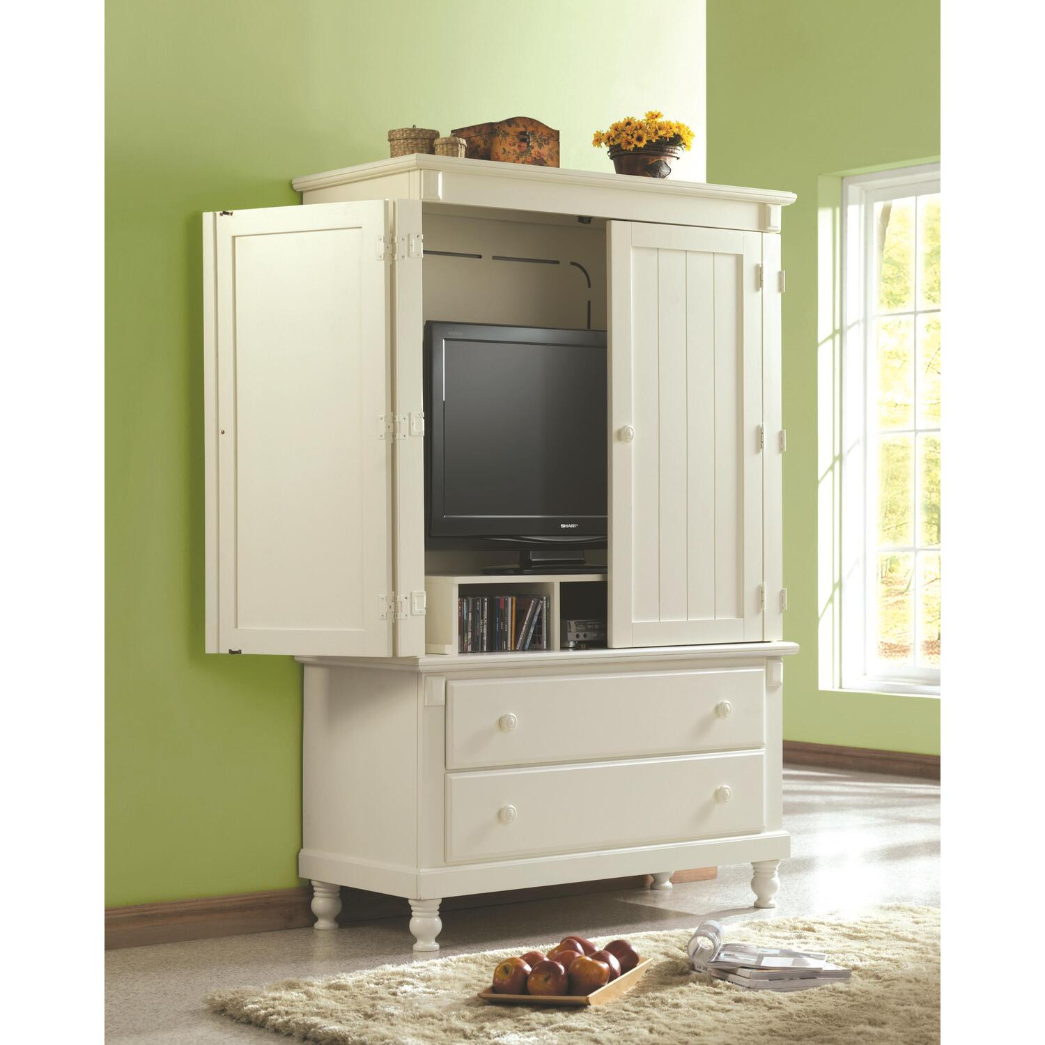 Homelegance Pottery TV Armoire By OJ Commerce $1,075.99