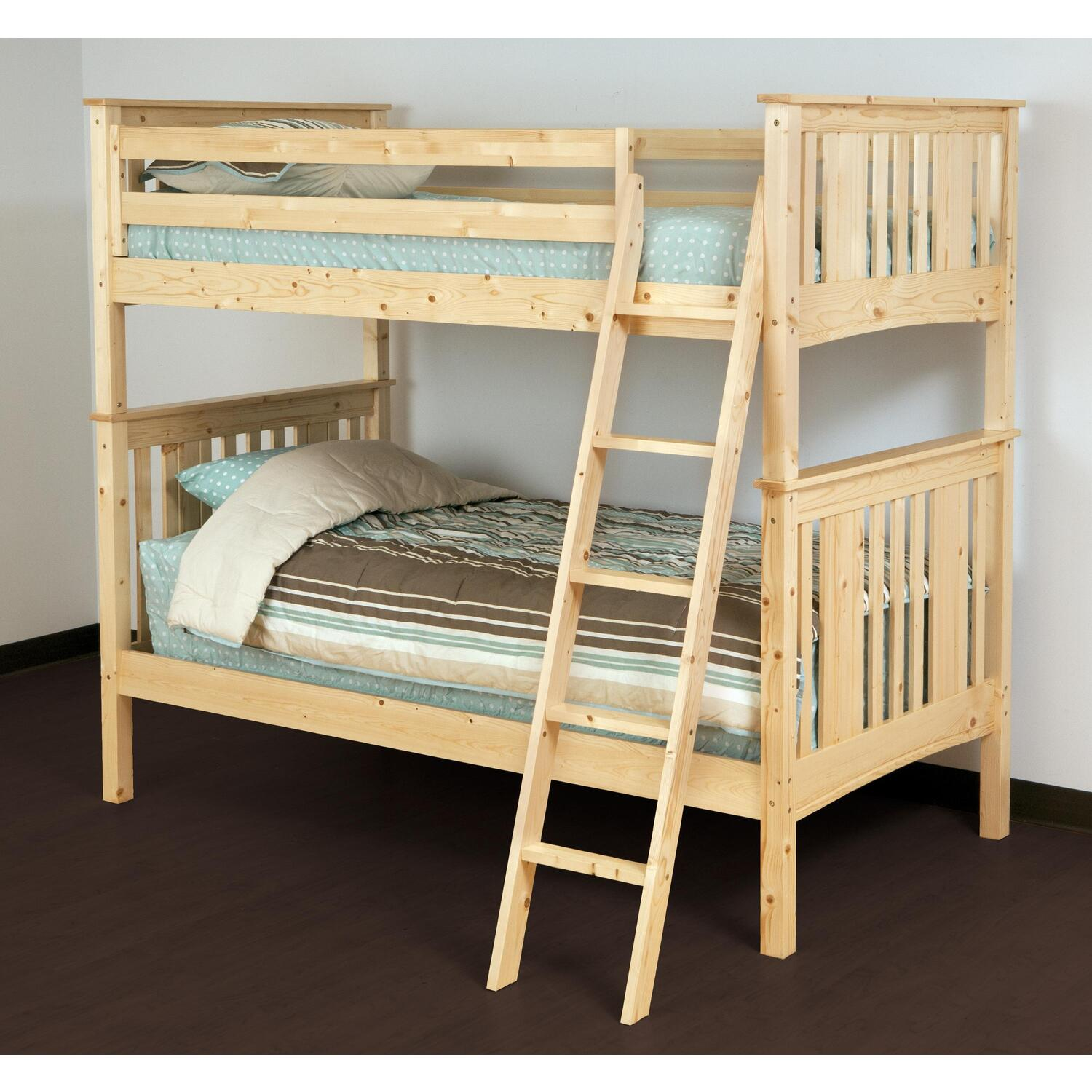 Canwood Canwood Base Camp Twin Over Twin Bunk Bed By Oj