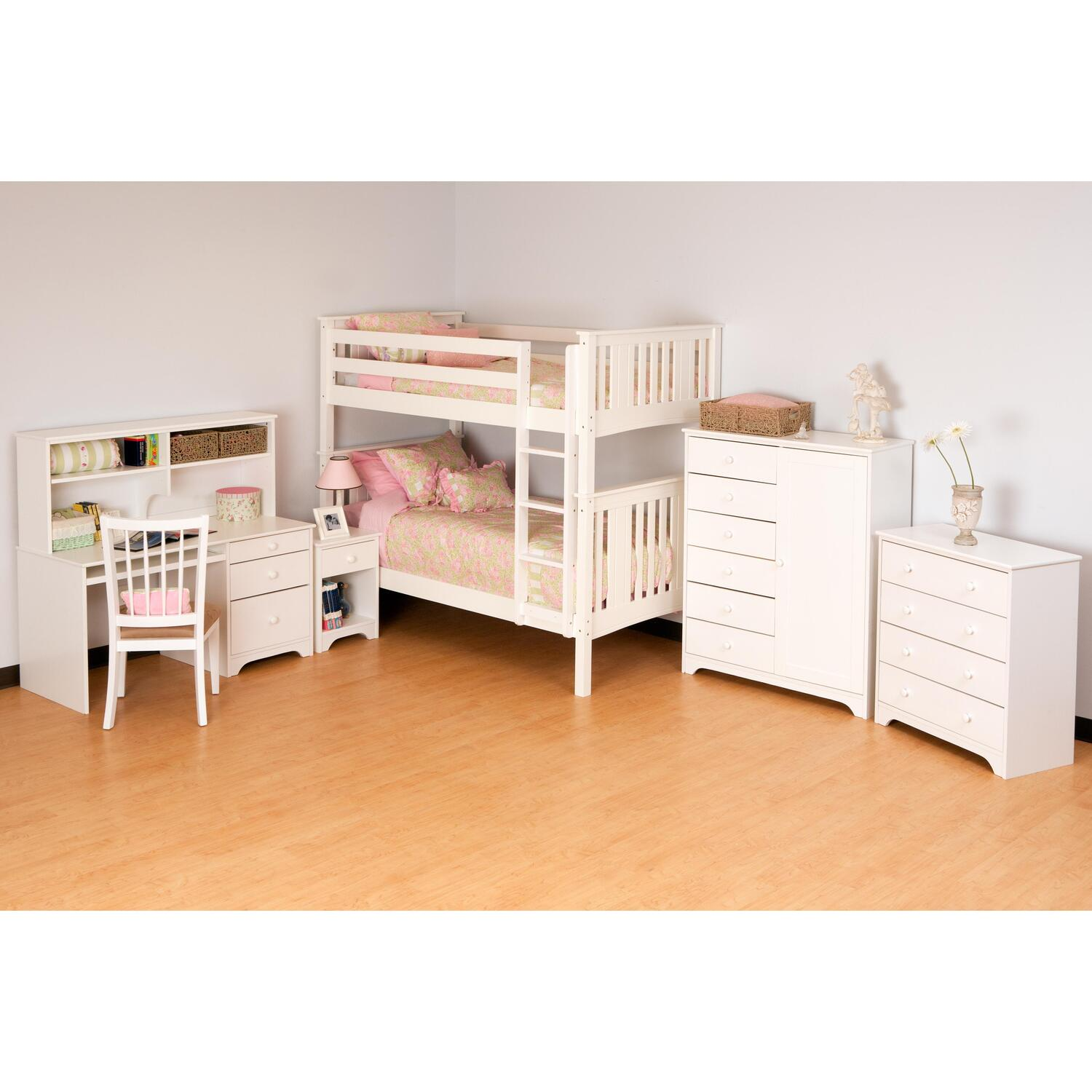 Canwood Base Camp Twin Bed Natural