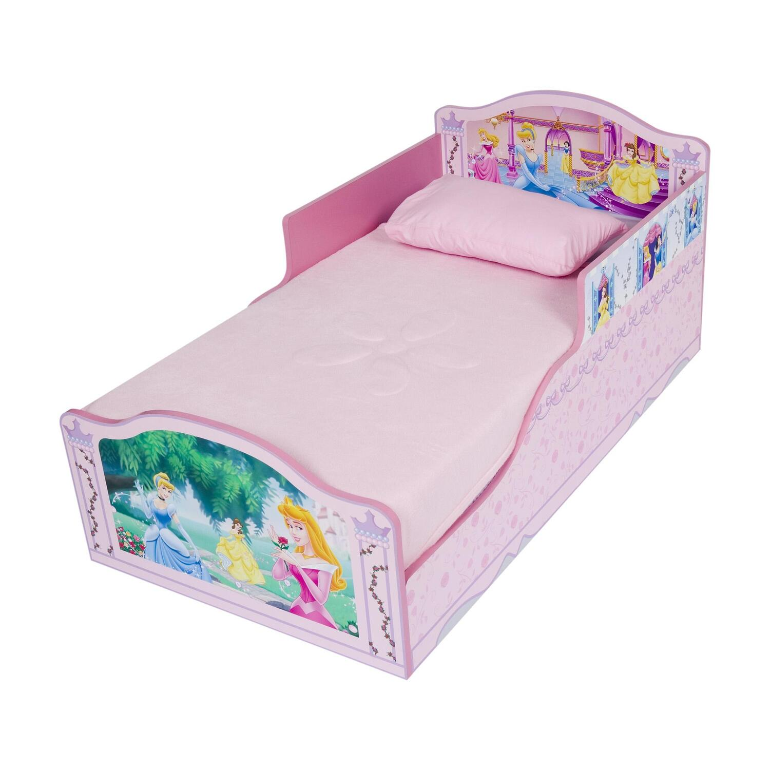 DISNEY Princess Wood Toddler Bed By OJ Commerce BB86622PS