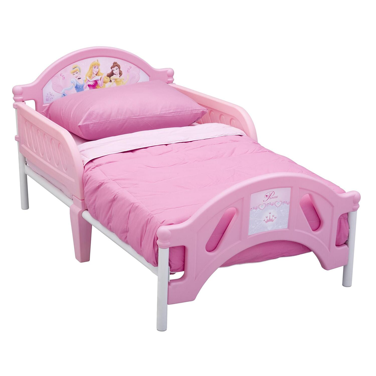 Disney Disney Princess Pretty Pink Toddler Bed by OJ Commerce ...