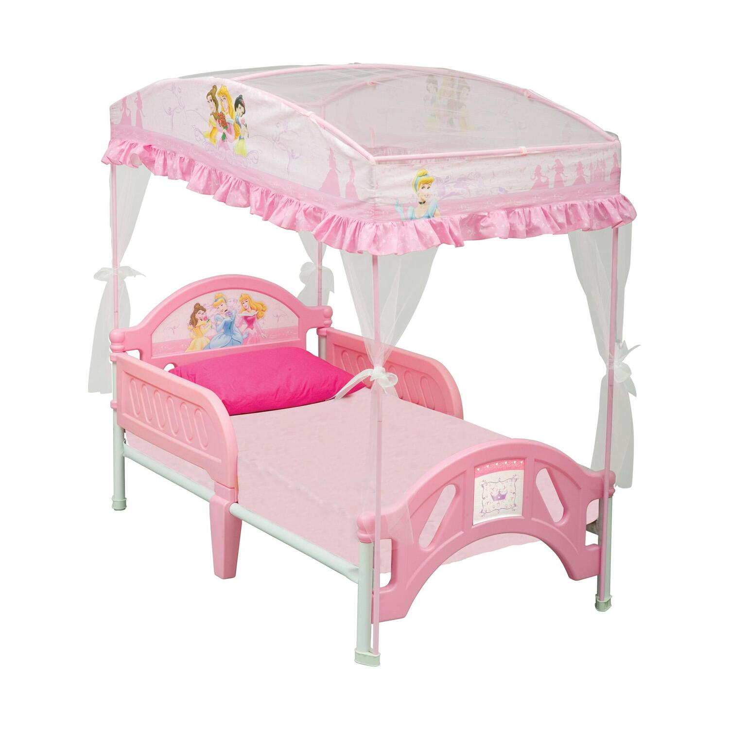 DISNEY Disney Princess Toddler Bed With Canopy By OJ