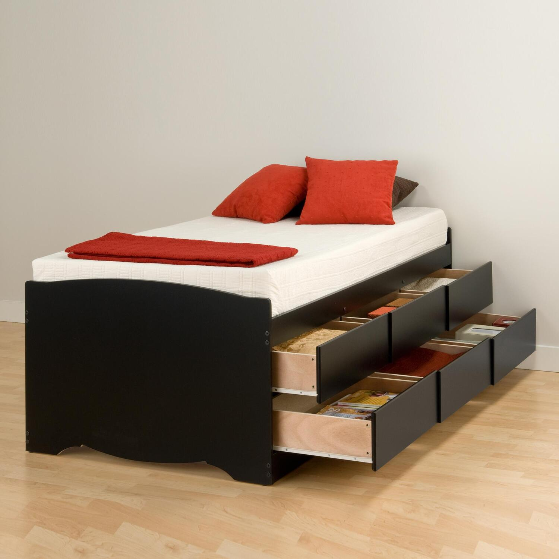 Кровать с ящиками фото