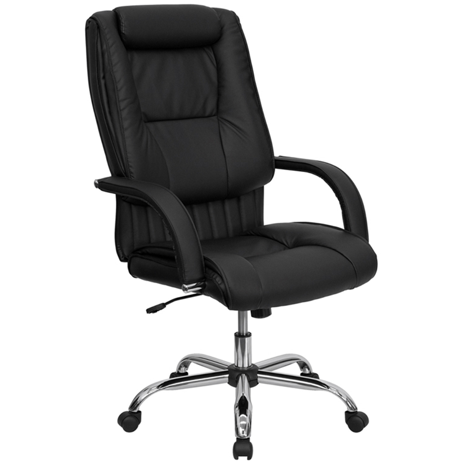 Office Chair With Headrest Office Chair With Rolled