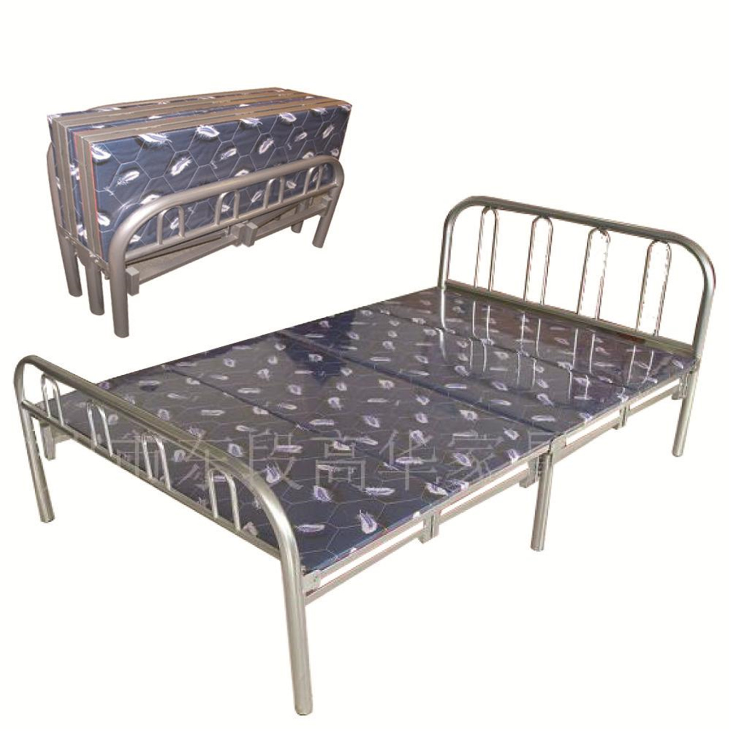 Home Source Metal Folding Bed By Oj Commerce Butterfly