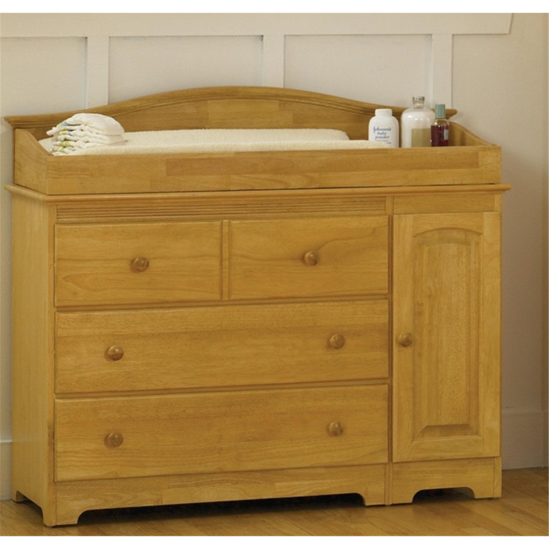atlantic furniture windsor changing table with cabinet by oj commerce. Black Bedroom Furniture Sets. Home Design Ideas
