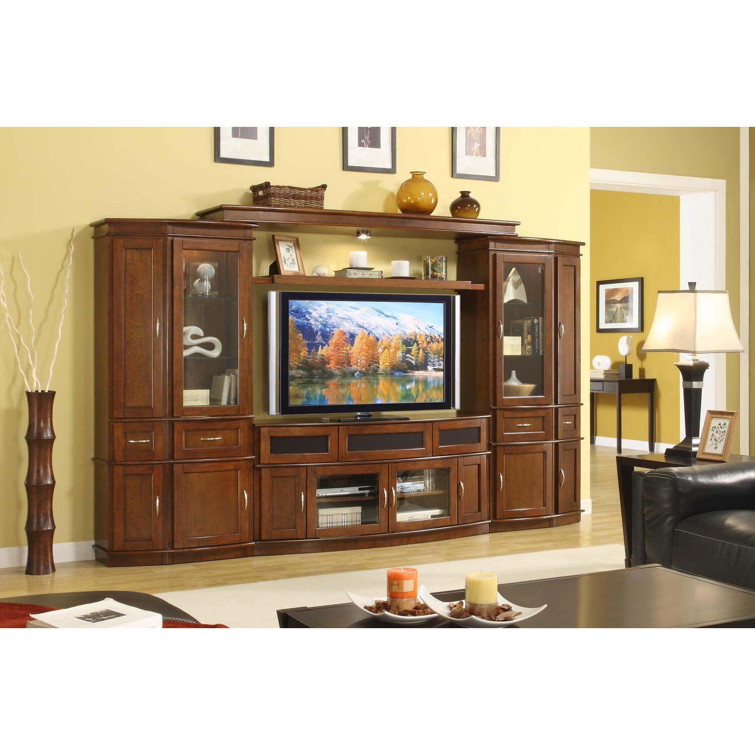 Whalen Cantata Entertainment Center With 60 U0026quot  Tv Console By