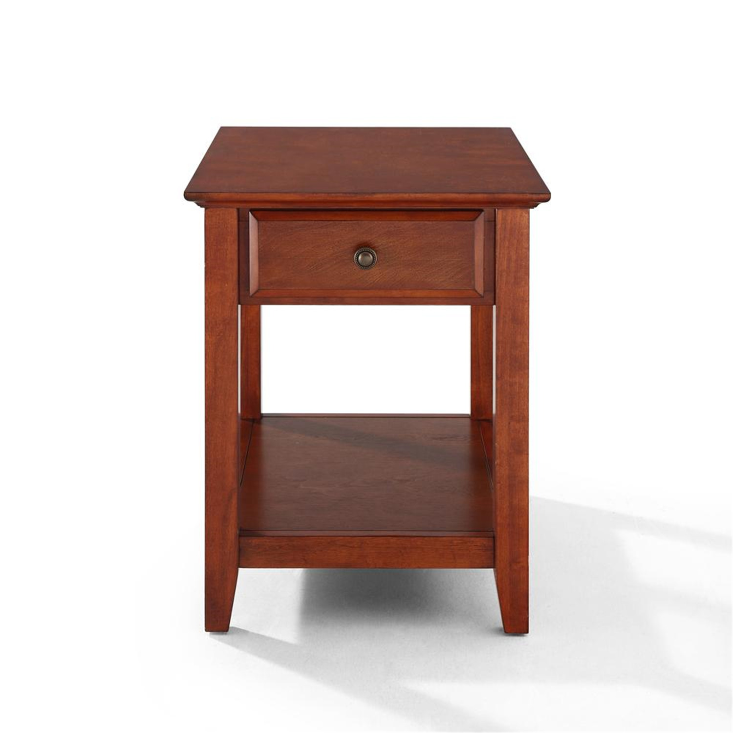Crosley End Table With Storage Drawer By Oj Commerce