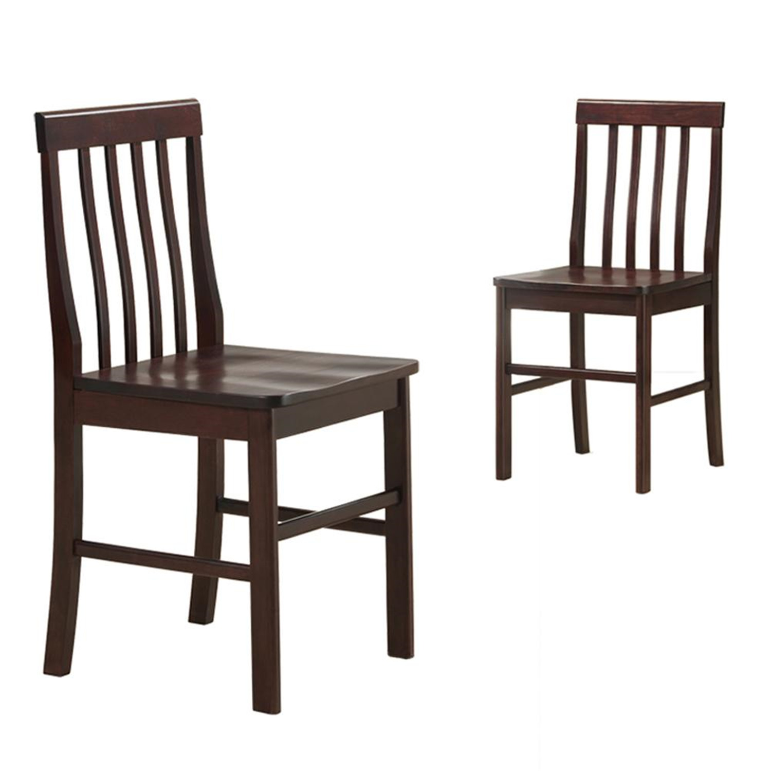 Walker Edison Solid Wood Dining Chairs 2 Piece By Oj