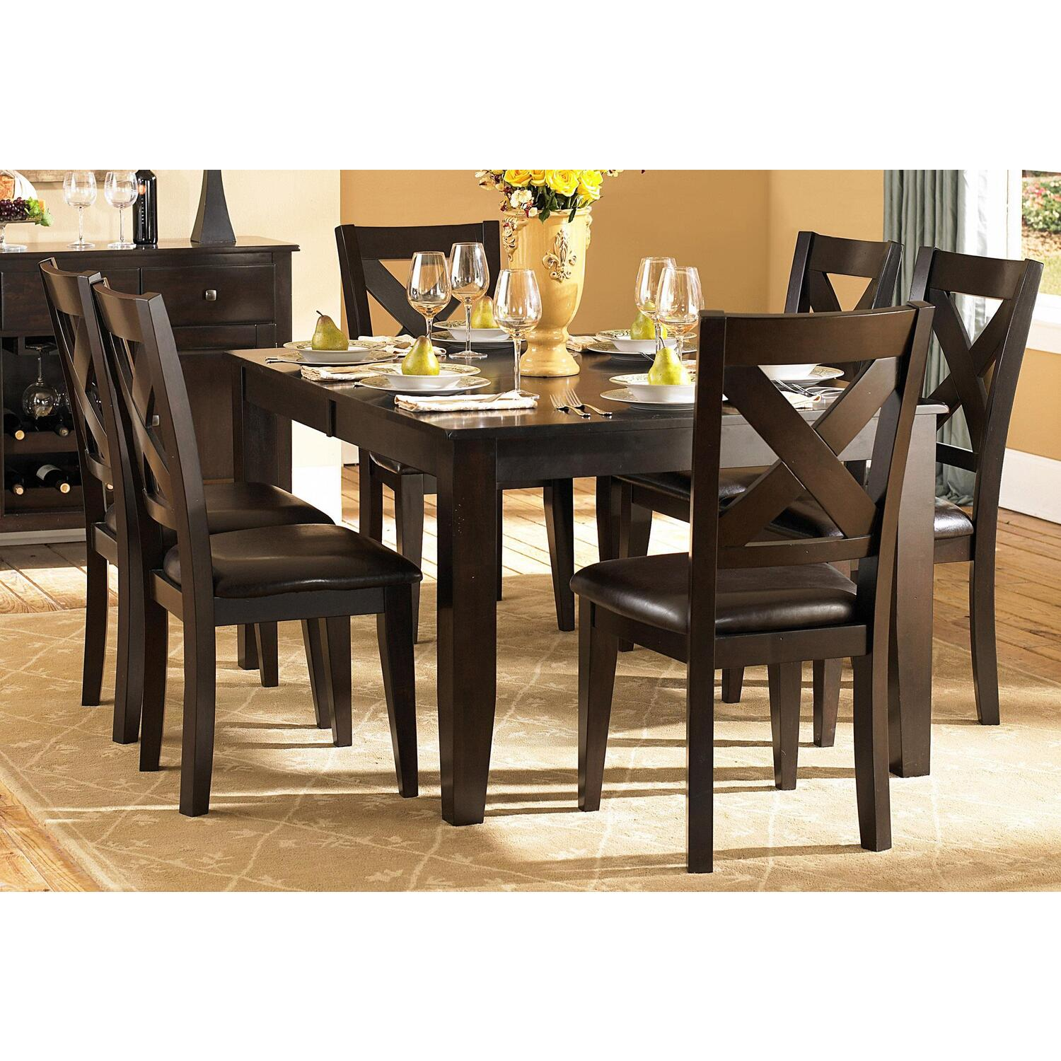 crown point dining table set