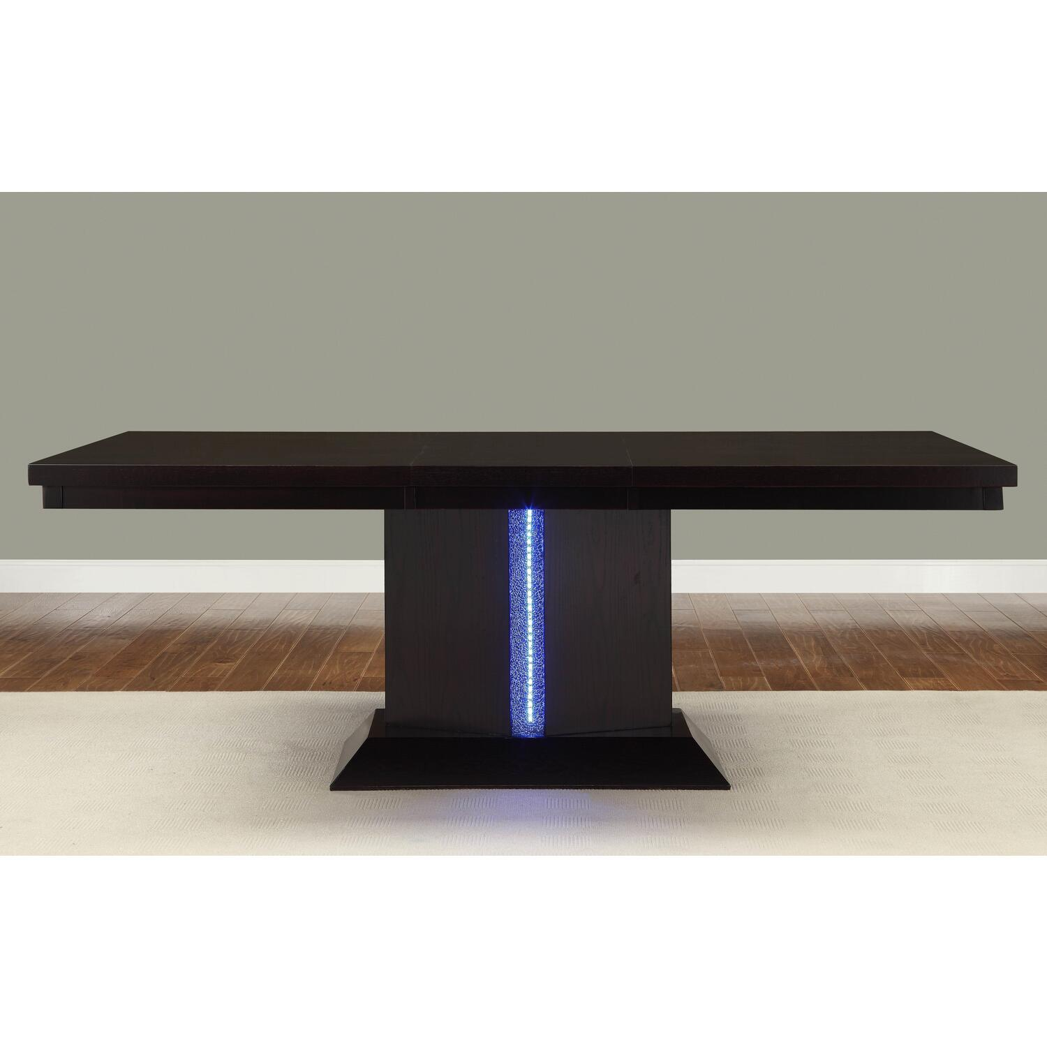 homelegance pulse led dining table by oj commerce