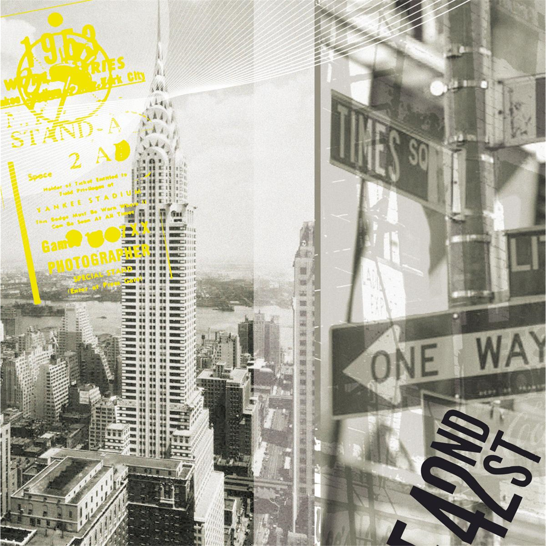 Platin Art Deco Glass Wall Decor - Art on Glass - NYC Chrysler ...