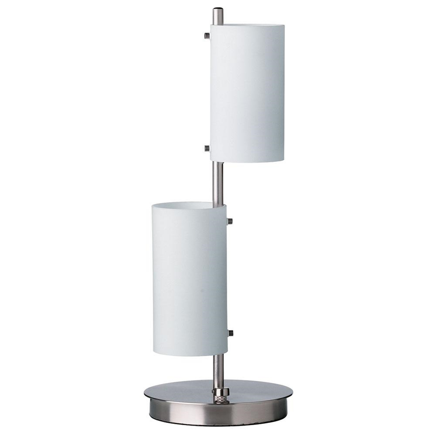 dainolite opal white glass shade table lamp by oj commercedm516 sc. Black Bedroom Furniture Sets. Home Design Ideas