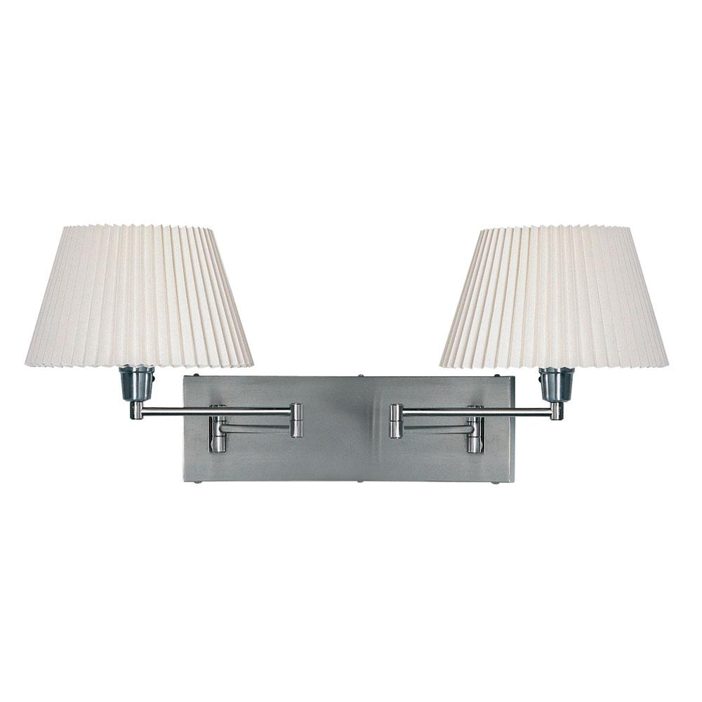 Wall Lighting Swing Arm Lamps : Dainolite Double Swing-Arm Wall Lamp by OJ Commerce DMWL802-SC - USD 296.00