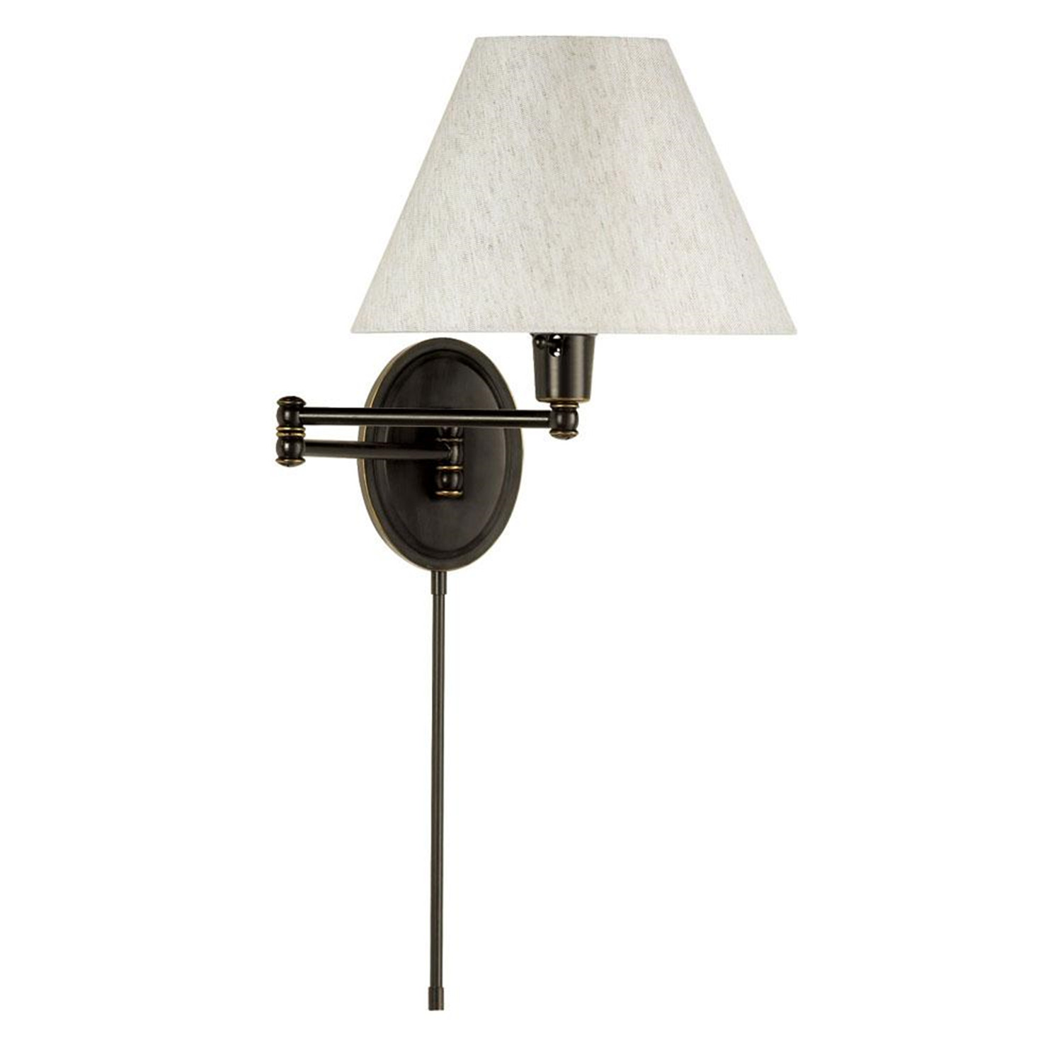 Wall Lamps : Dainolite Dual Swing-Arm Wall Lamp by OJ Commerce USD 174.00