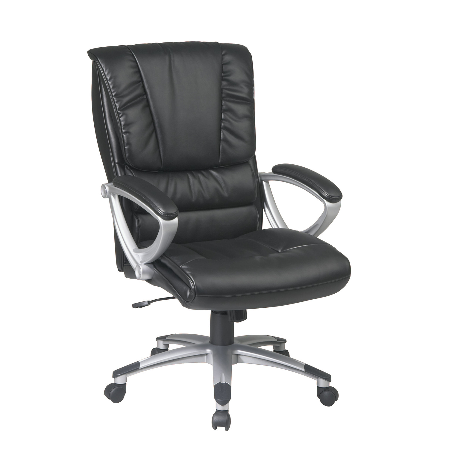 Office Star Executive Eco Leather Chair By OJ Commerce