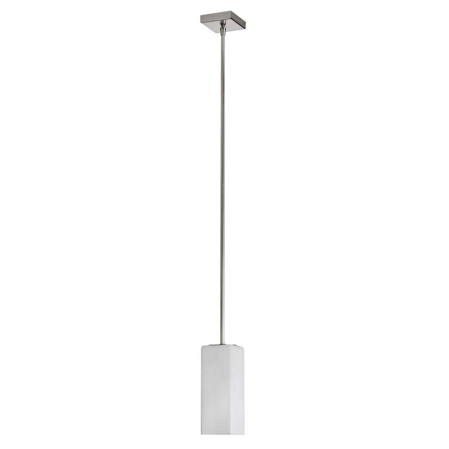 dainolite square opal white glass one light ceiling