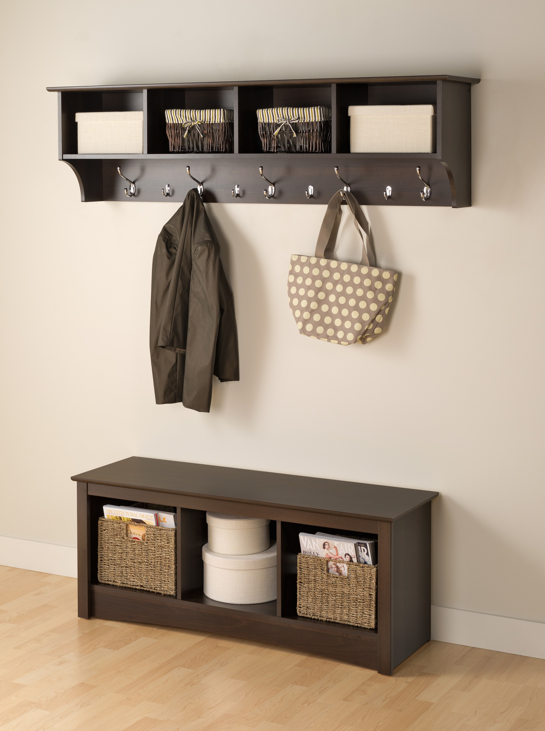 Prepac Hanging Entryway Shelf By Oj Commerce 82 07 109 74