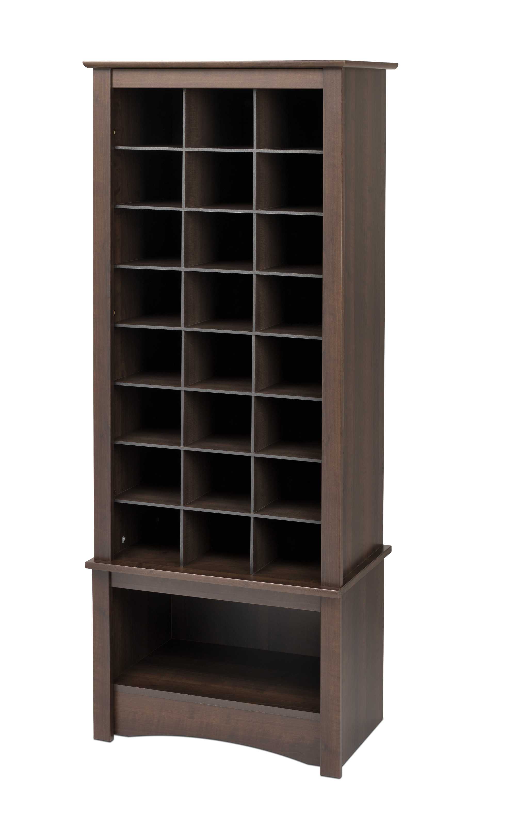 Prepac Tall Shoe Cubbie Cabinet By Oj Commerce 186 54