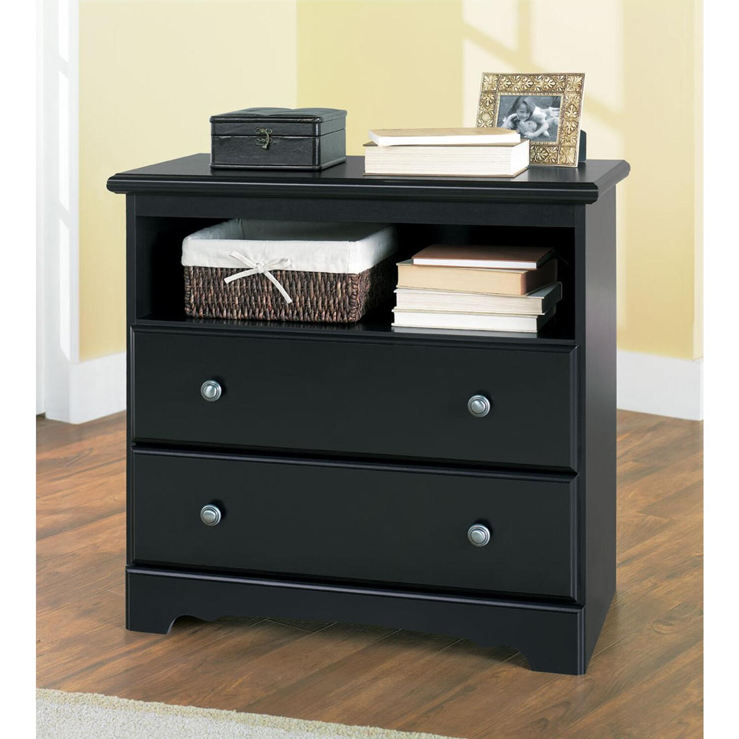 Lane furniture drawer hall chest in black by oj commerce