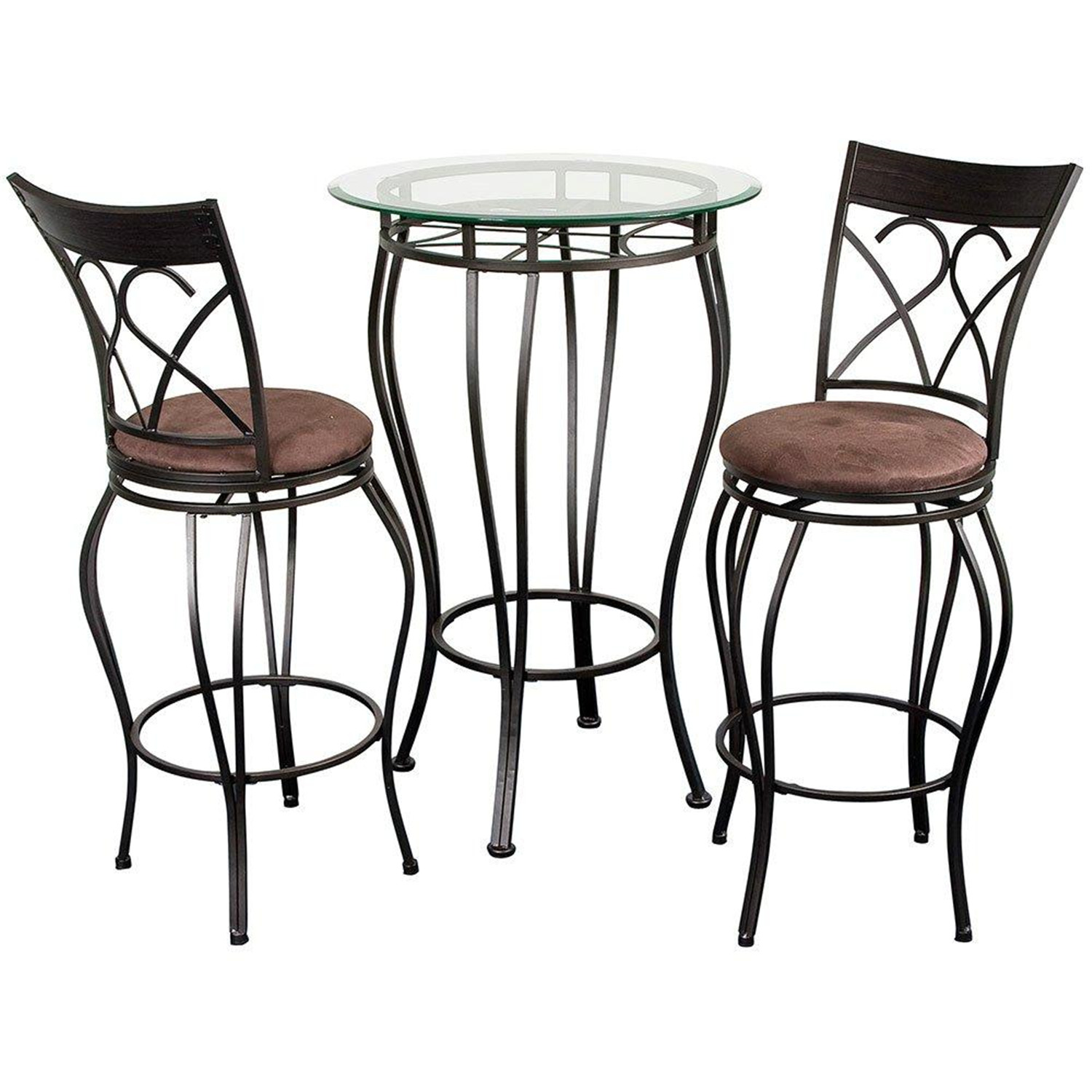 Home source pub table w 2 stools by oj commerce for 99 pub table