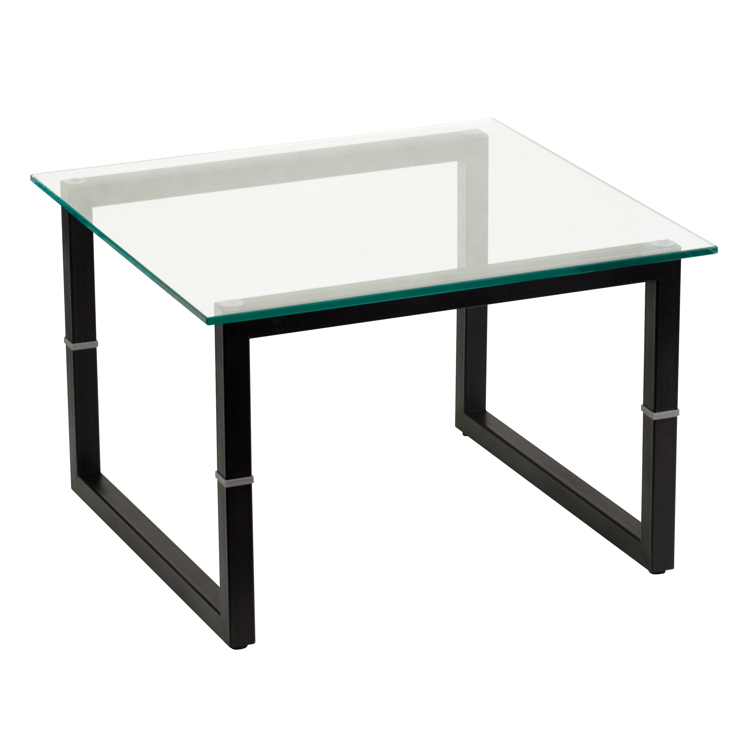 Flash furniture glass end table by oj commerce fd end tbl for Glass end tables