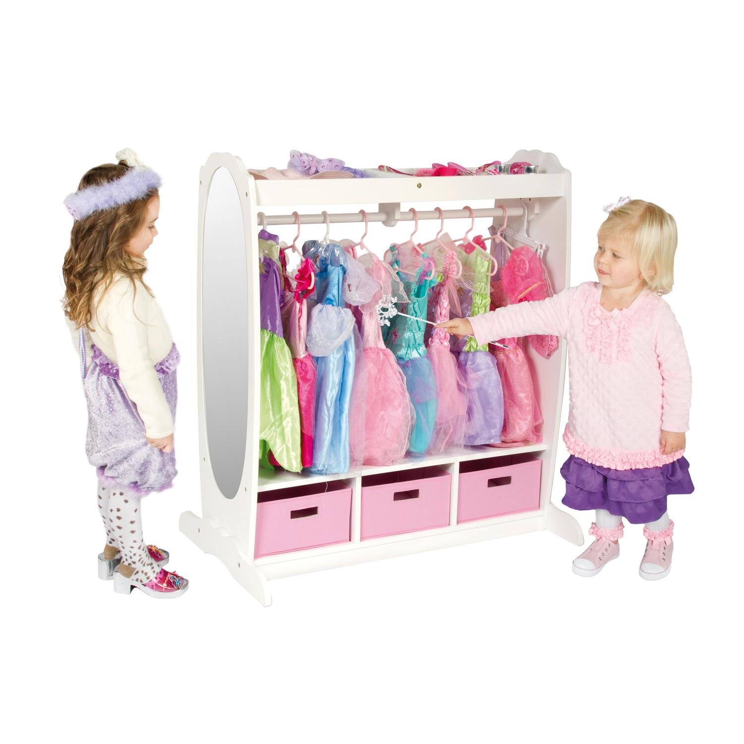 Guidecraft Dress Up Storage Center By Oj Commerce 137 36