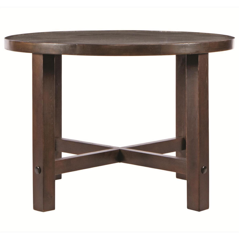 Sitcom Gabriella Round Dining Table by OJ Commerce GABR00008970 ...