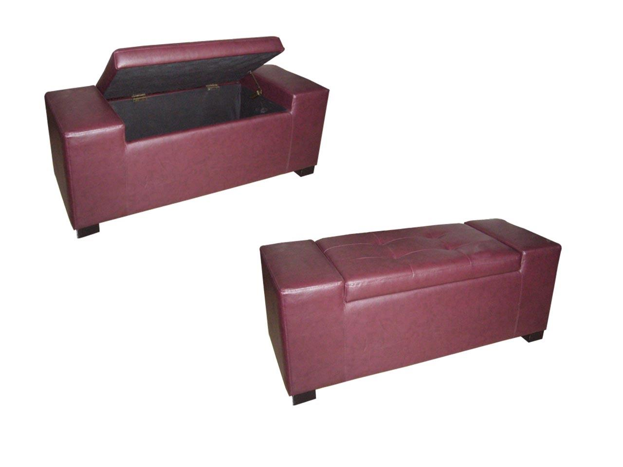 Ore International Red Storage Bench By Oj Commerce Hb4275