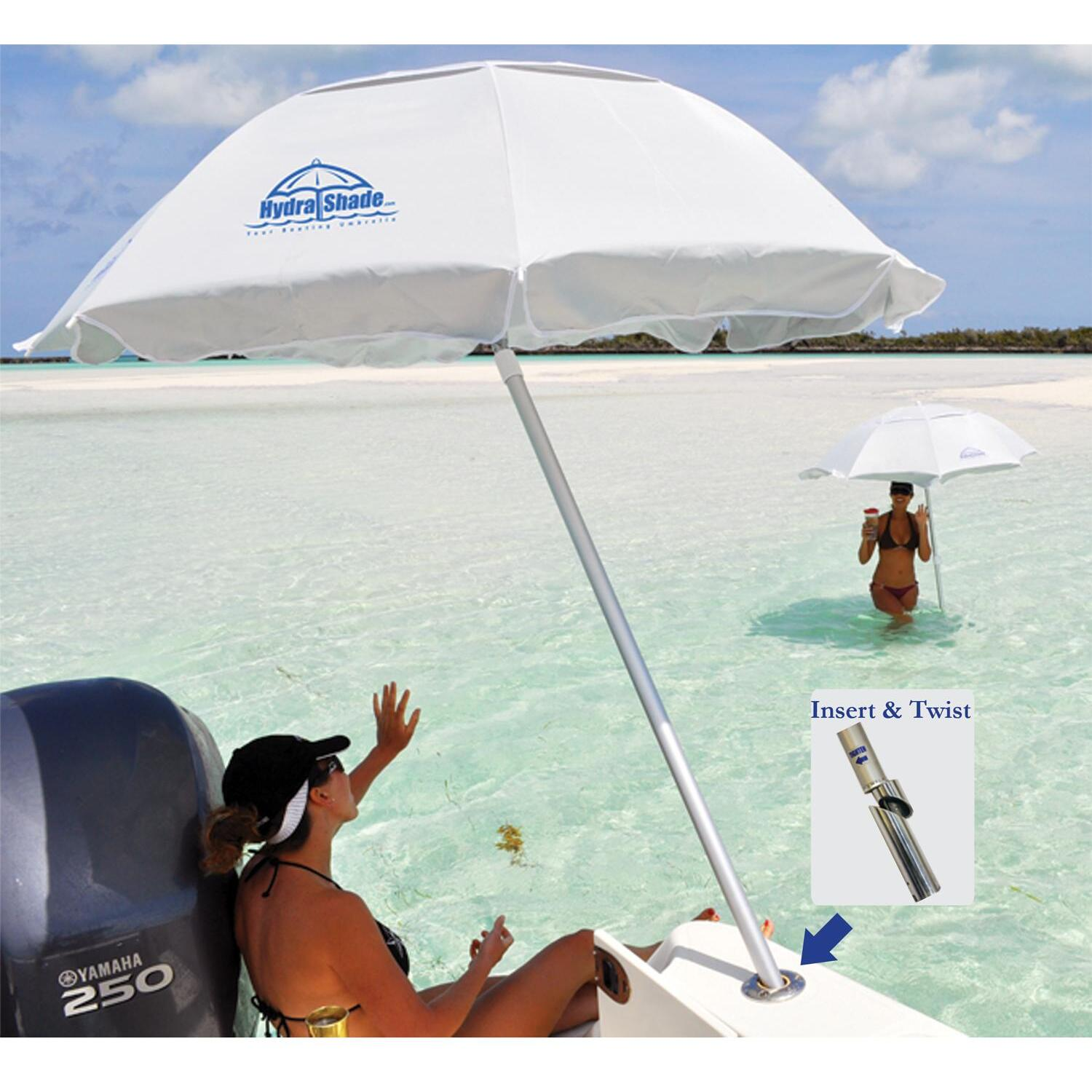 Hydra shade 4 piece kit boating umbrella by oj commerce hs for Boat umbrellas fishing