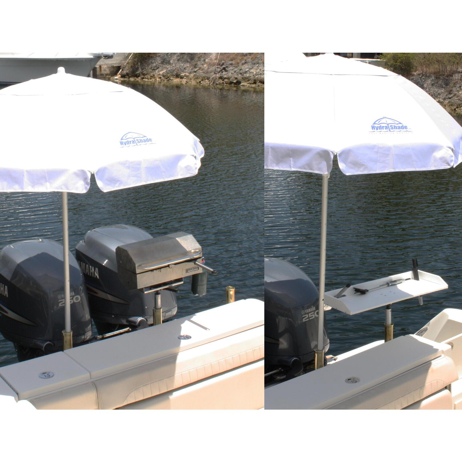 Hydra Shade 4 Piece Kit Boating Umbrella By Oj Commerce Hs