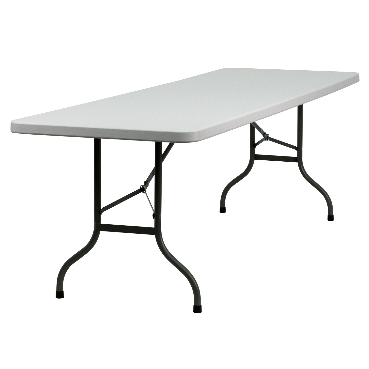 Plastic Folding Table : ... White Plastic Folding Table by OJ Commerce HY-244-T016-GG - $231.04