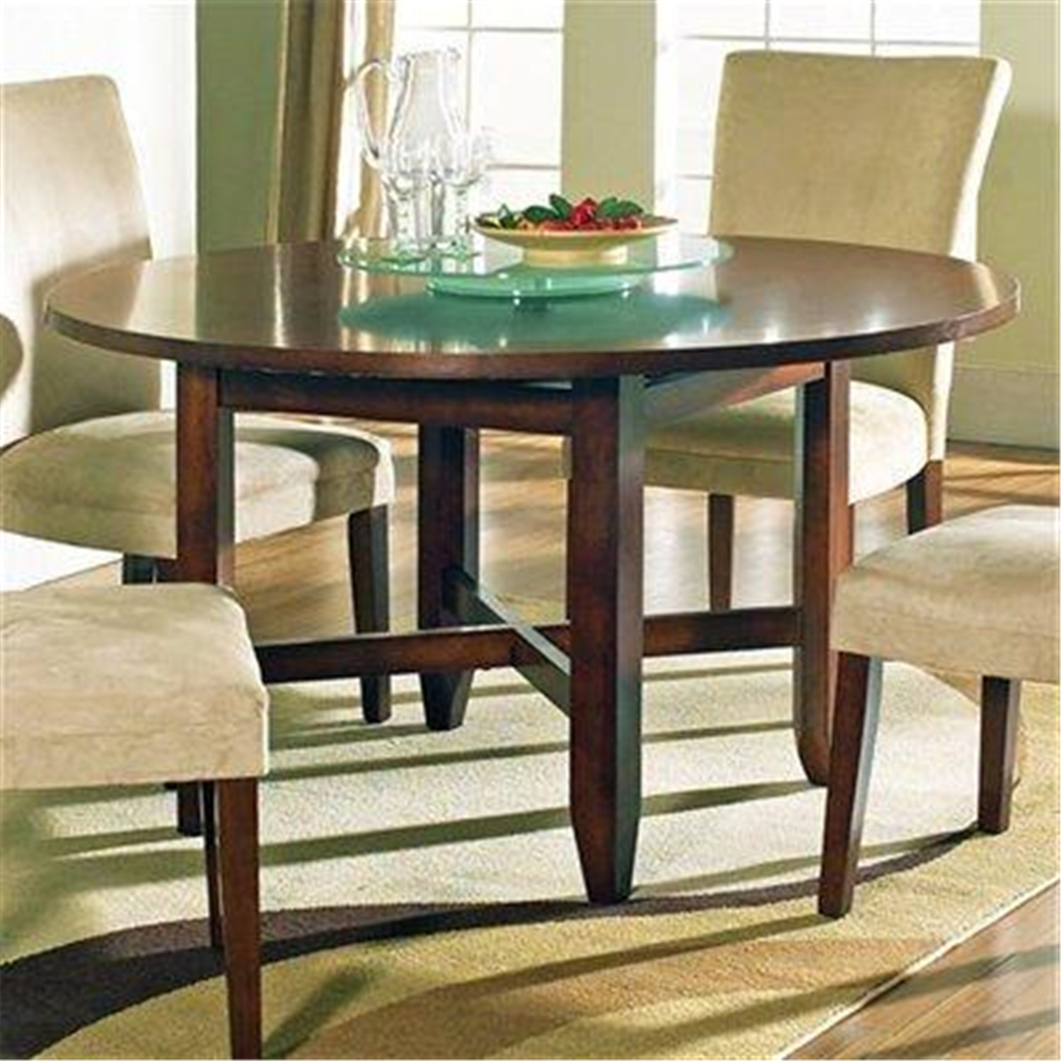 Dining table dress small dining table for Dining table dressing ideas