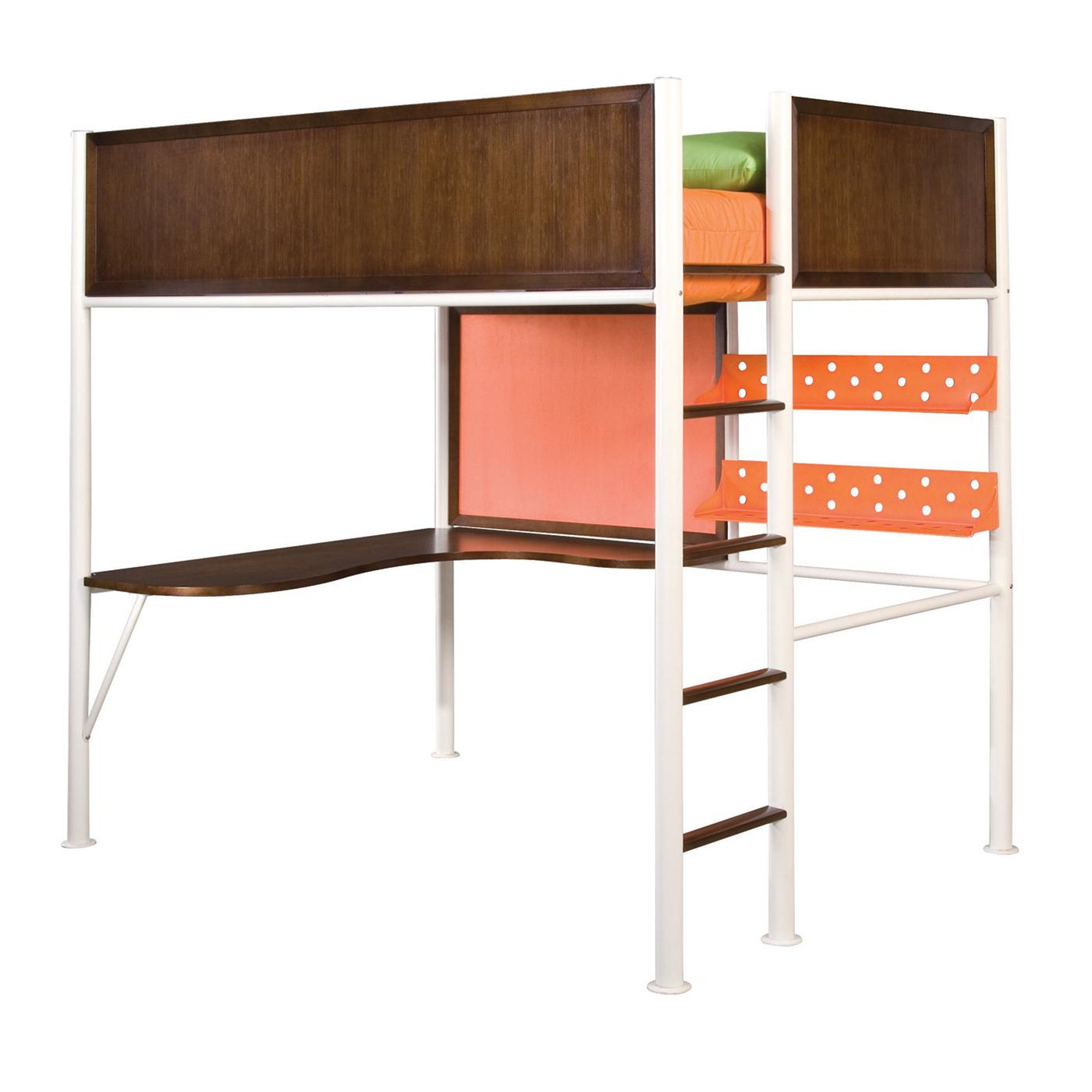 Lea Teen Nick Studio Loft Bed Full By Oj Commerce 970 984r