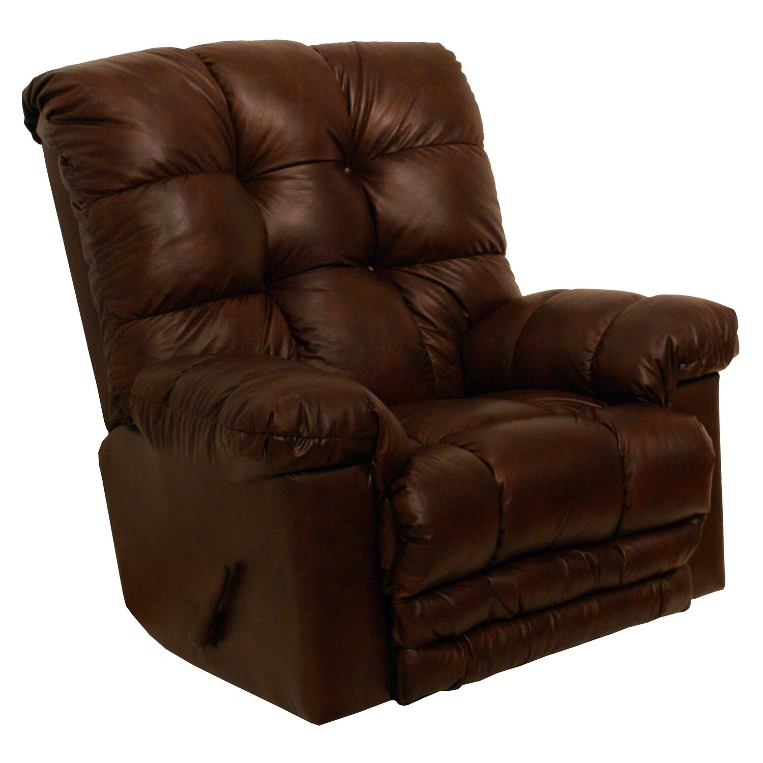 Catnapper cloud ten leather rocker recliner by oj commerce for Catnapper cloud nine chaise recliner