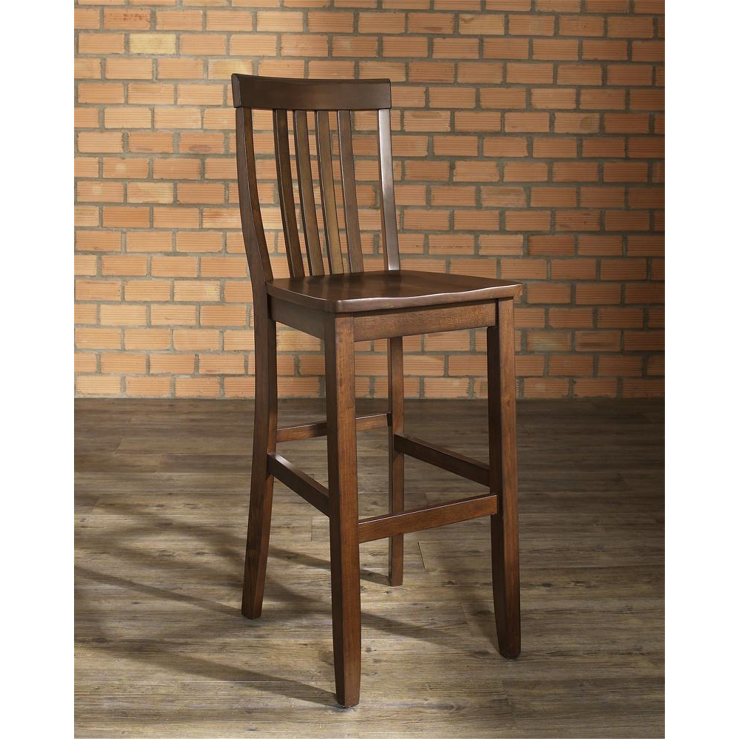 Crosley School House Bar Stool with 30 Inch Seat Height  : i232880 from ojcommerce.com size 800 x 1000 jpeg 113kB