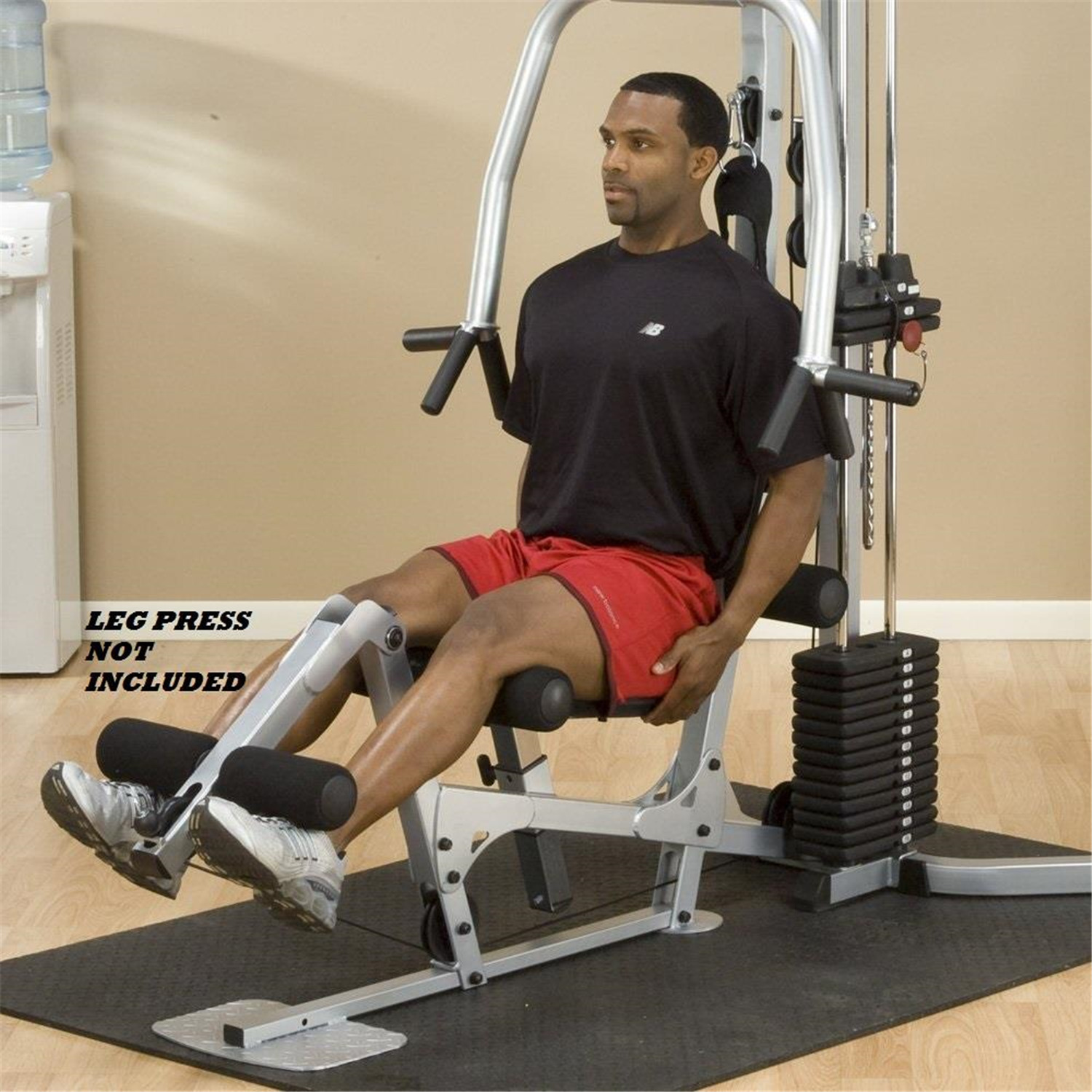 Body solid powerline bsg home gym leg press