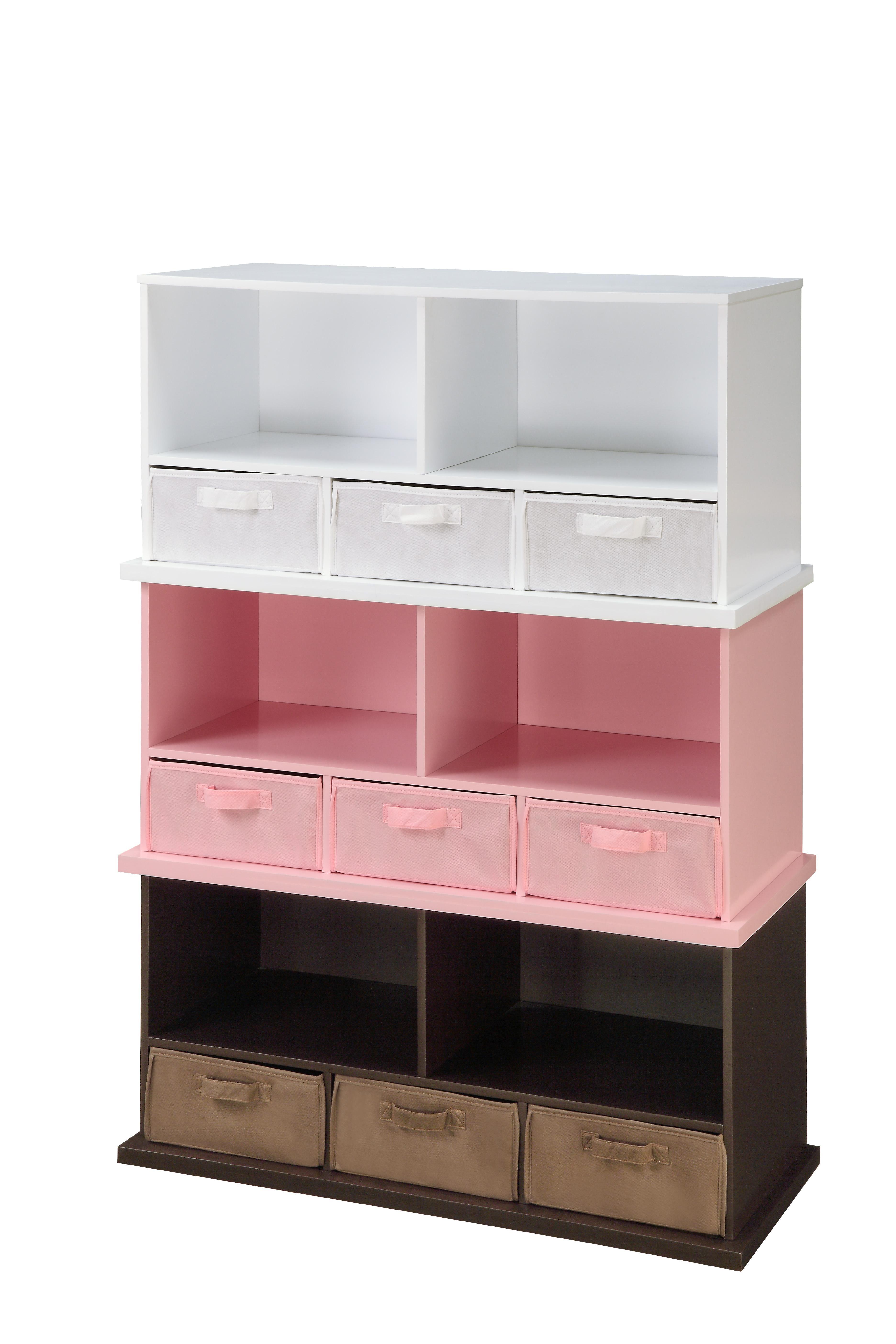 Badger basket stackable storage shelf by oj commerce 77 - Stackable 20desk 20organizer ...