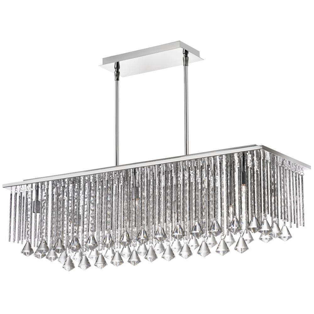 Dainolite Jacqueline Rectangular Crystal Chandelier By Oj