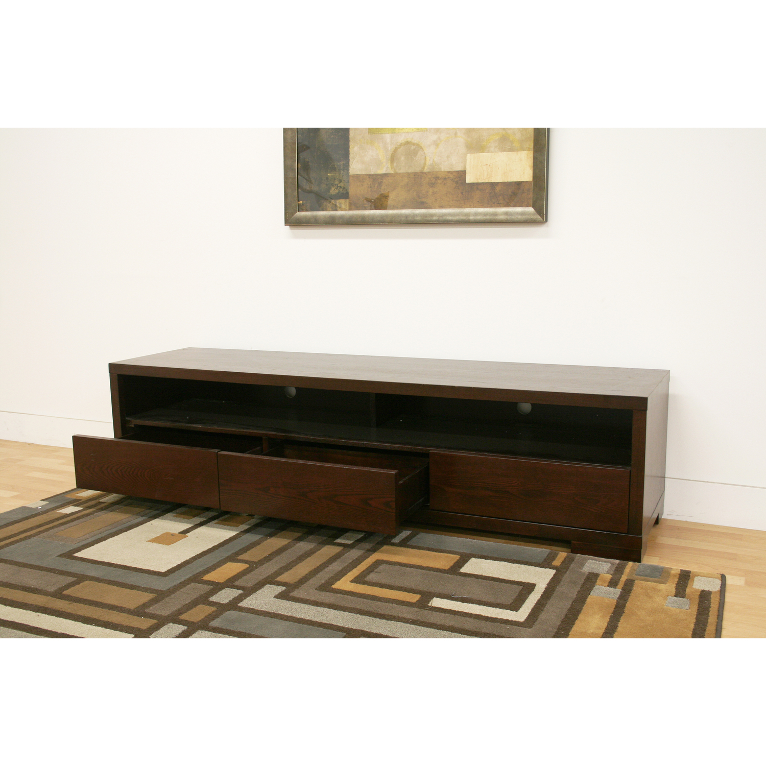 Baxton Studio Jairo Dark Brown Wood Modern