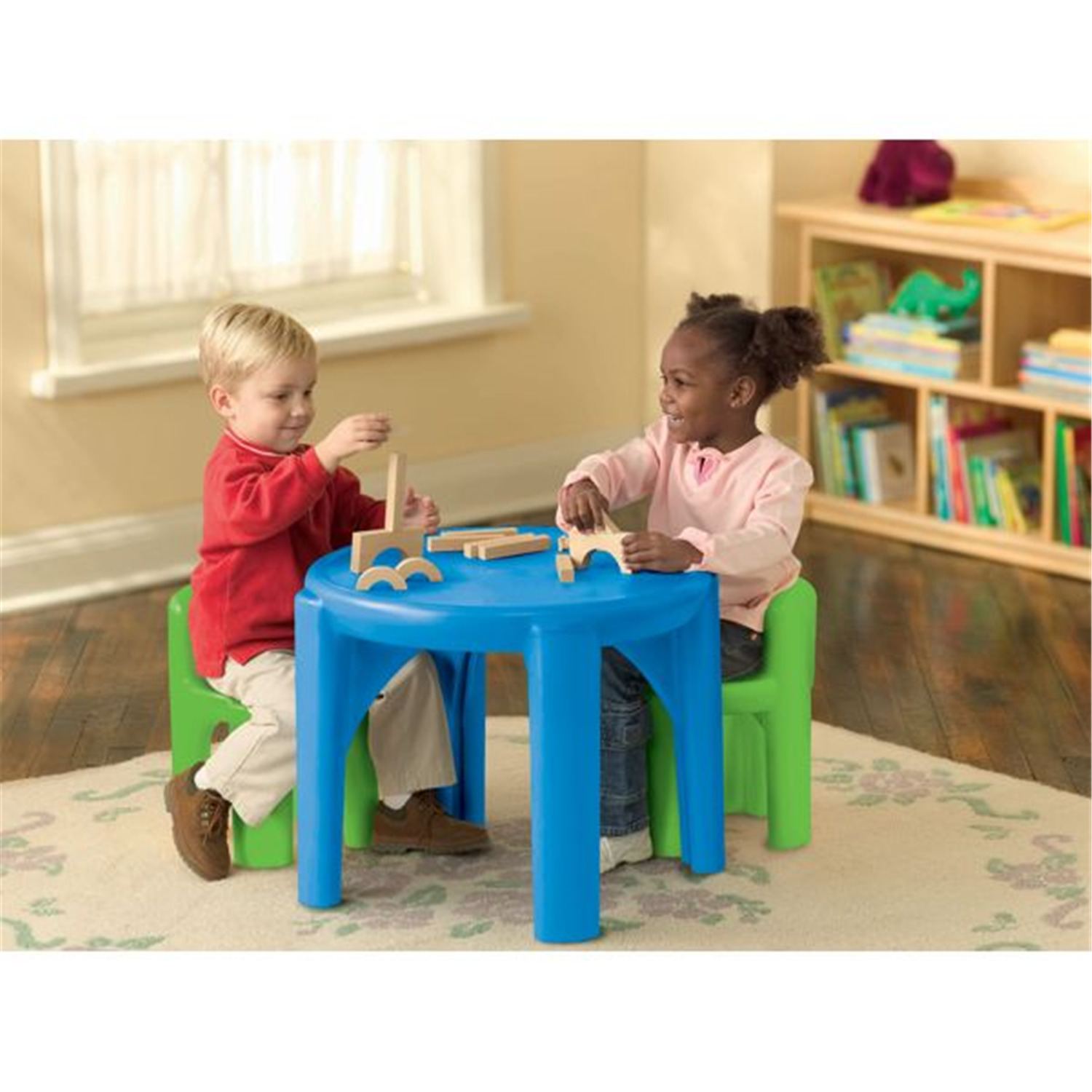 Little tikes bright n bold table amp chairs by oj commerce 621048