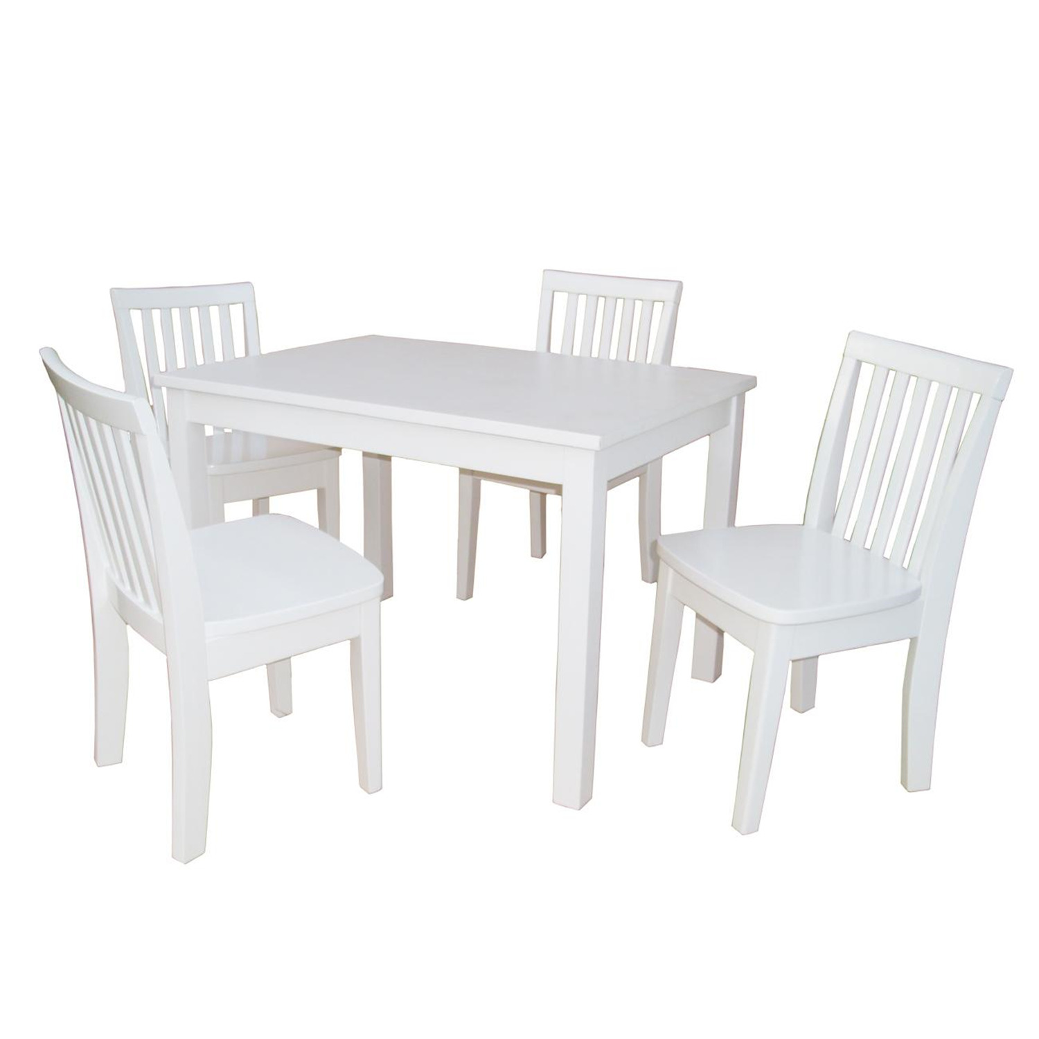 International Concepts Mission Juvenile Table Set with 4