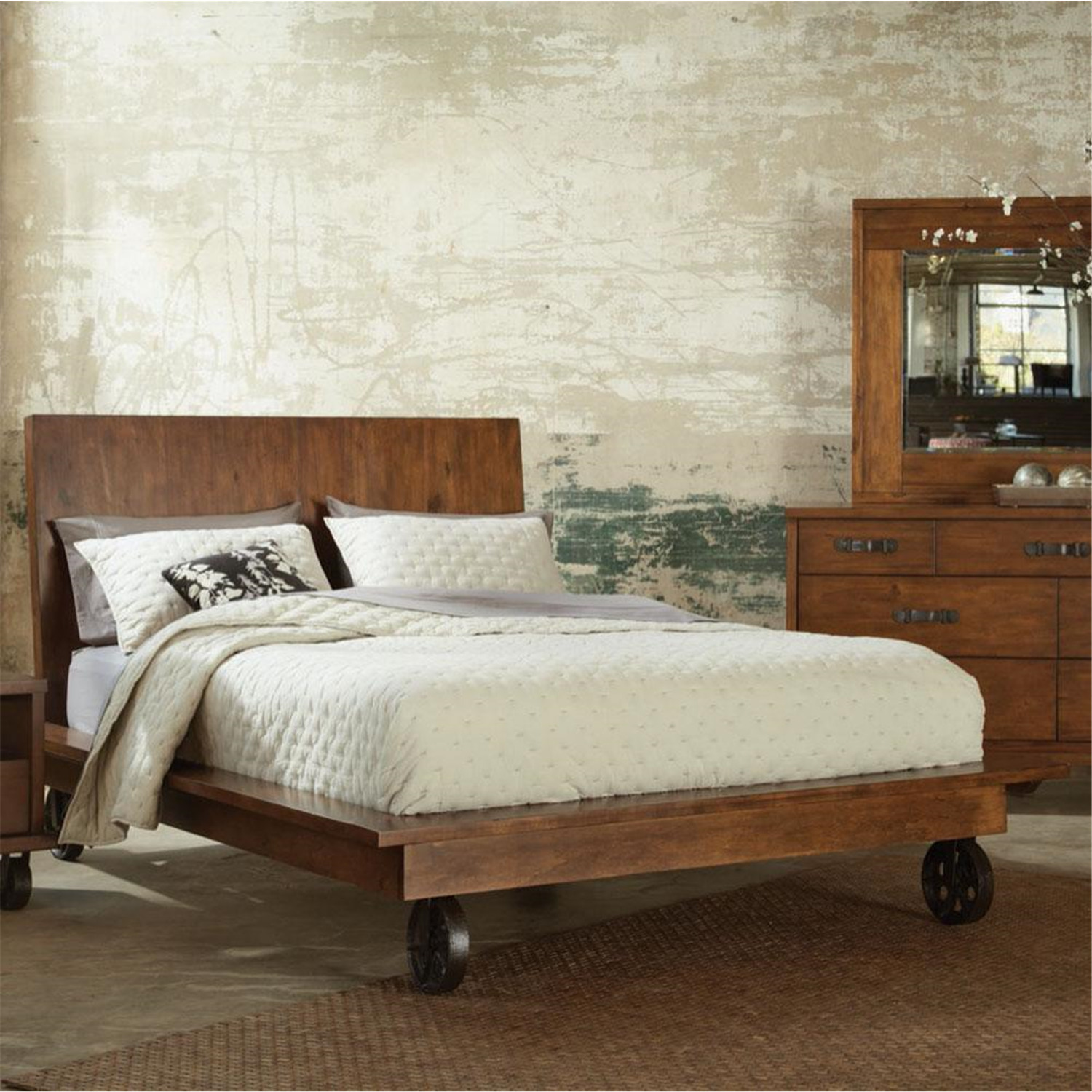 Sitcom Kaitlyn California King Bed By Oj Commerce