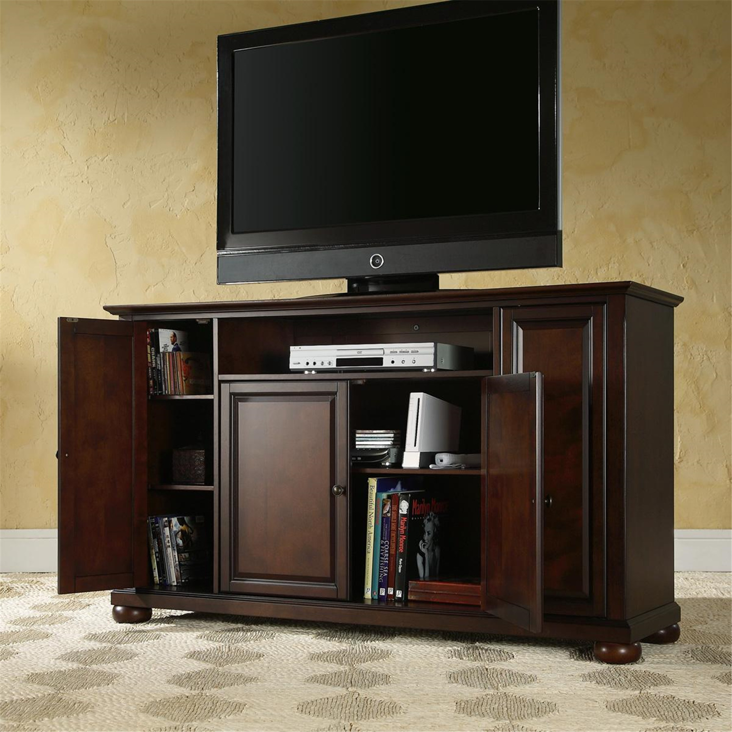 Crosley Alexandria 60 TV Stand By OJ Commerce 41900