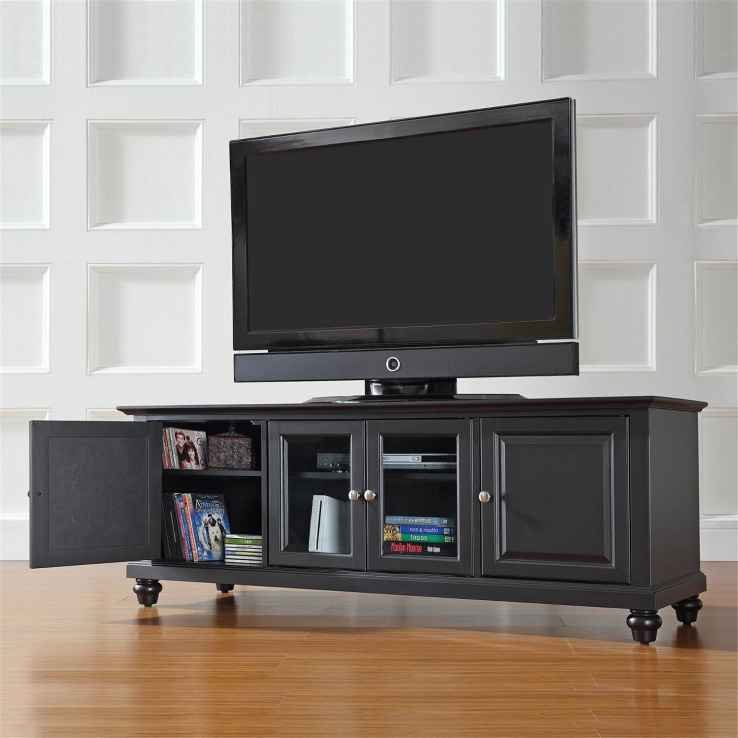 Crosley Cambridge 60 Low Profile Tv Stand By Oj Commerce