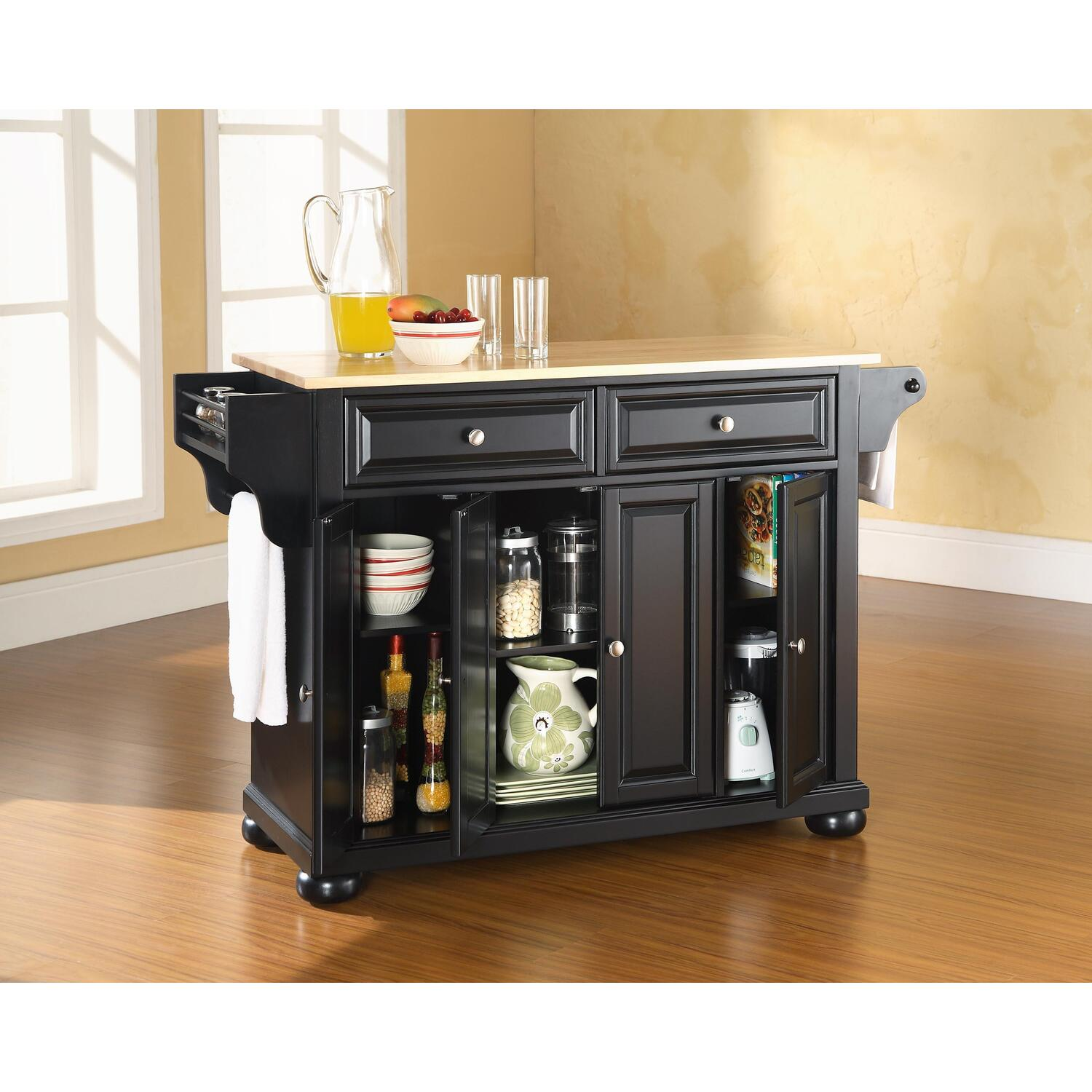 crosley alexandria kitchen island by oj commerce