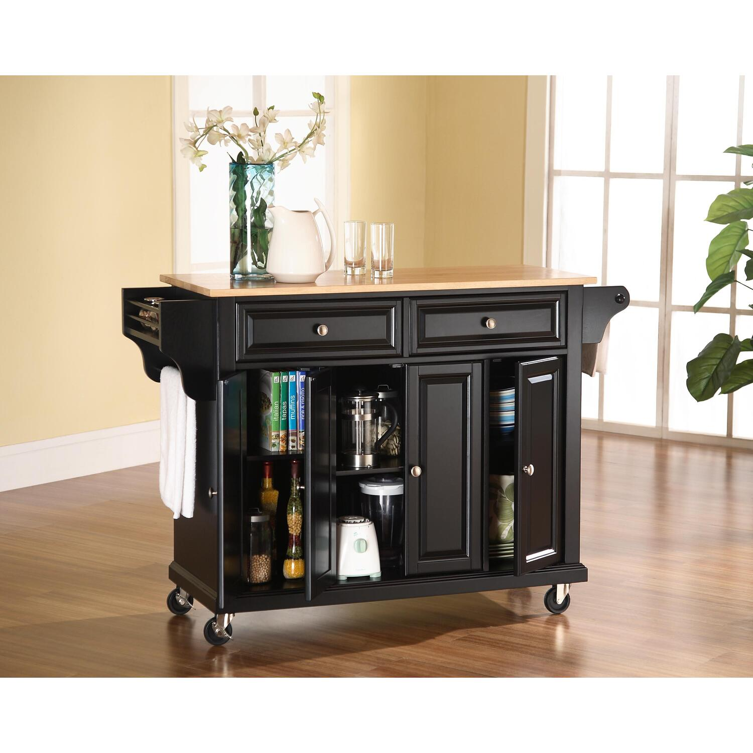 crosley kitchen cart island by oj commerce