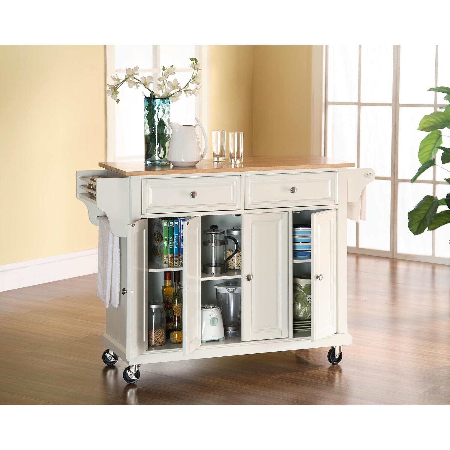 crosley kitchen cart island by oj commerce 369 00 460 00 portable kitchen islands and carts on hayneedle kitchen